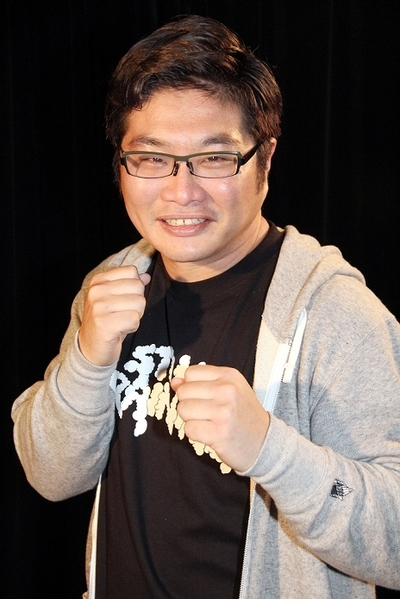 松尾諭/Satoru Matsuo, Apr 02, 2015 : 総合格闘技「UFC」の魅力を語った俳優の松尾諭さん=2015年4月2日撮影