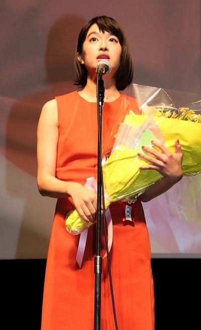 門脇麦/Mugi Kadowaki, Nov 22, 2014 : 「第6回TAMA映画賞」の授賞式=2014年11月22日撮影
