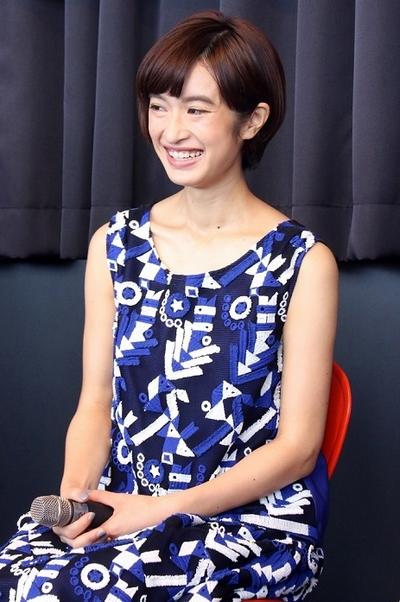 門脇麦, Aug 07, 2016 : 東京タワーで行われたミュージカル「わたしは真悟」の製作発表記者会見