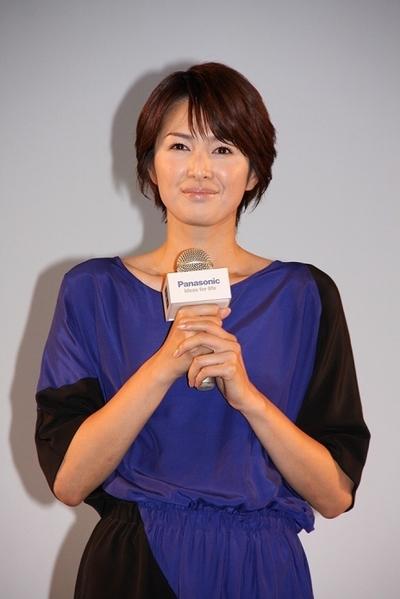 吉瀬美智子/Michiko Kichise, Aug 21, 2012 : パナソニックの「スマート家電」発表会に登場した吉瀬美智子さん