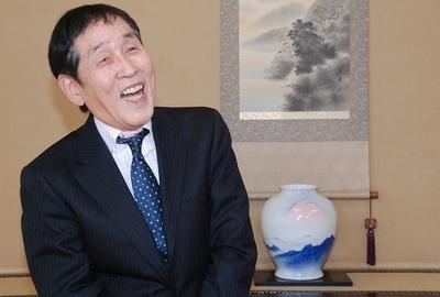 萩本欽一/Kinichi Hagimoto, Feb 03, 2013 : 「直前特番!3月1日・将棋界の一番長い日へ」で対談した萩本欽一さん=2013年2月3日撮影