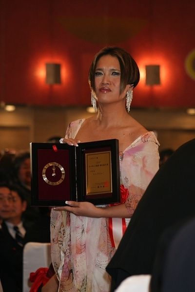 IKKO, Dec 03, 2007 : 「2007年ユーキャン新語・流行語大賞」の表彰式に出席したIKKOさん=東京都内で2007年12月3日撮影
