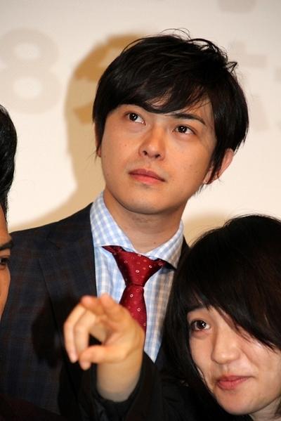 勝地涼/Ryo Katsuji, Apr 11, 2015 : 連続ドラマ「ヤメゴク~ヤクザやめて頂きます~」の特別試写会=2015年4月11日撮影