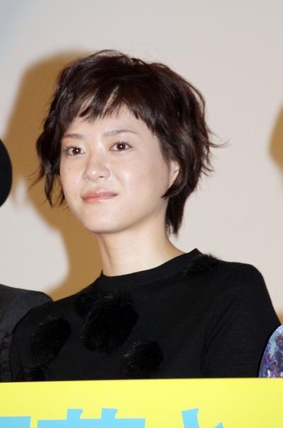 上野樹里, Sep 08, 2016 : 東京・新宿バルト9にて行われた映画「お父さんと伊藤さん」の完成披露試写会
