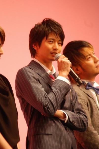 向井理/Osamu Mukai, Apr 24, 2012 : 映画「GIRL」の完成披露試写会=2012年4月24日撮影