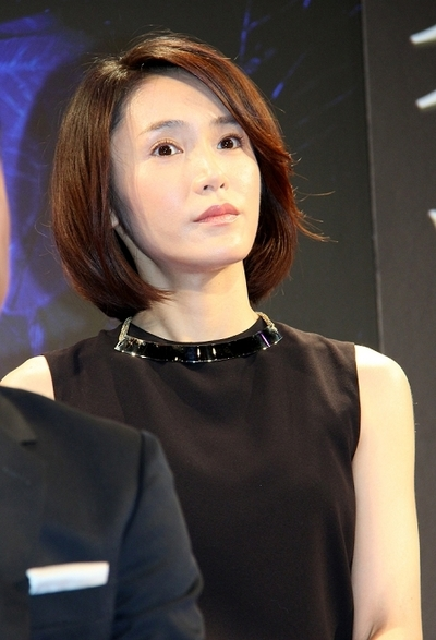 山口紗弥加/Sayaka Yamaguchi, Jul 01, 2014 : 「家族狩り」制作発表=2014年7月1日撮影