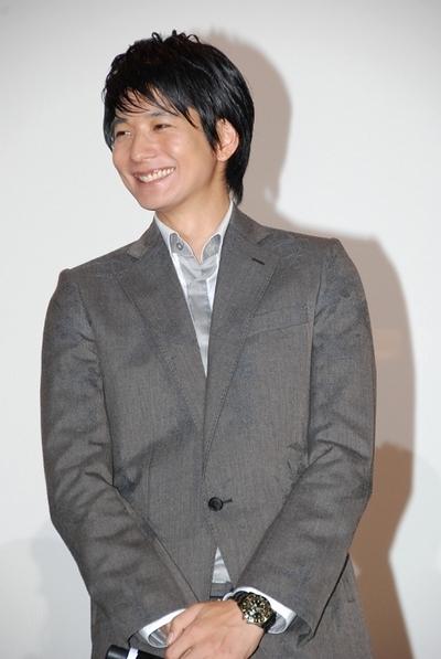 向井理/Osamu Mukai, Sep 25, 2012 : 映画「新しい靴を買わなくちゃ」会見に登場した向井理さん=2012年9月25日撮影