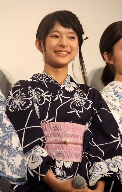 芳根京子/Kyoko Yoshine, Aug 07, 2015 : 映画「向日葵の丘 1983年・夏」(太田隆文監督)の舞台あいさつ
