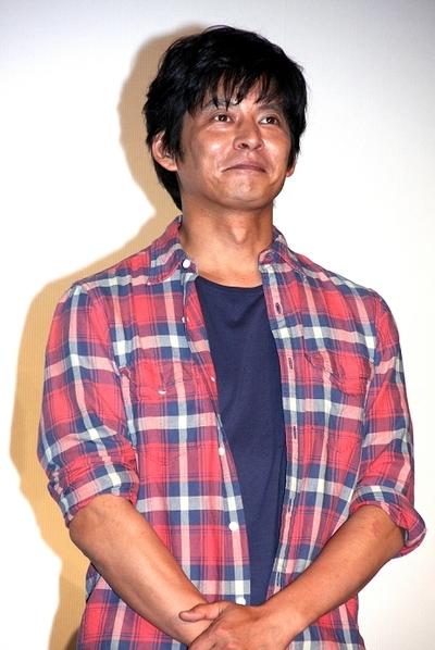 織田裕二/Yuji Oda, Jul 03, 2013 : 連続ドラマ「Oh, My Dad!!」(フジテレビ系)の会見に登場した織田裕二さん=2013年7月3日撮影