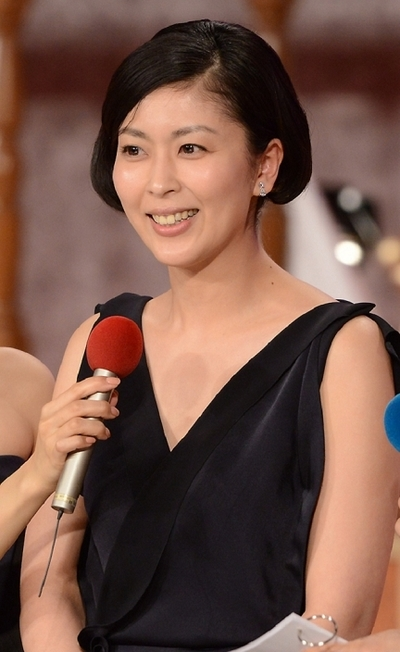 松たか子/Takako Matsu, Mar 08, 2013 : 第36回日本アカデミー賞の優秀主演女優賞を受賞=2013年3月8日撮影
