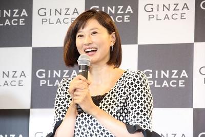 菊川怜, Sep 24, 2016 : 銀座の新名所「GINZA PLACE」のオープニングセレモニー