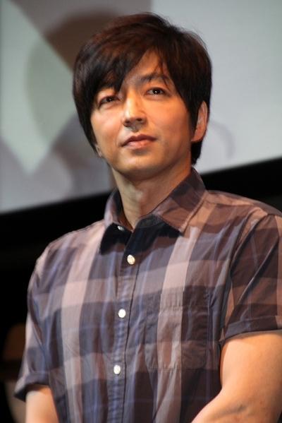大沢たかお/Takao Osawa, May 22, 2014 : =2014年5月22日撮影 ファッションブランド「グローバルワーク」の20周年記念イベントのトークショー