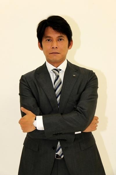 織田裕二/Yuji Oda, Aug 18, 2014 : 「株価暴落」に主演する俳優の織田裕二さん=2014年8月18日撮影