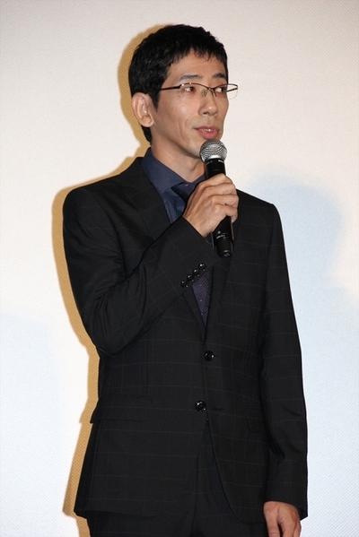 野間口徹, Oct 13, 2016 : 東京都内で行われた映画「疾風ロンド」の完成披露舞台あいさつ