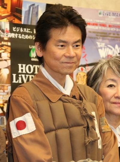 今井雅之/Masayuki Imai, Feb 23, 2015 : 「ザ・ウィンズ・オブ・ゴッド Japan Your 2015」の製作発表記者会見=2015年2月23日撮影