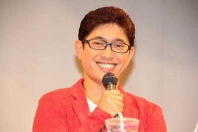 薬丸裕英/Hirohide Yakumaru, Dec 18, 2013 : 独自の子育て論を語った薬丸裕英さん=2013年12月18日撮影 「キッザニア体験とこどもの成長」をテーマにしたトークショー