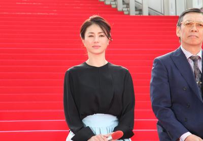 生瀬勝久, 井川遥, Apr 02, 2017 : 4月スタートの連続ドラマ「貴族探偵」の会見=2017年4月2日撮影
