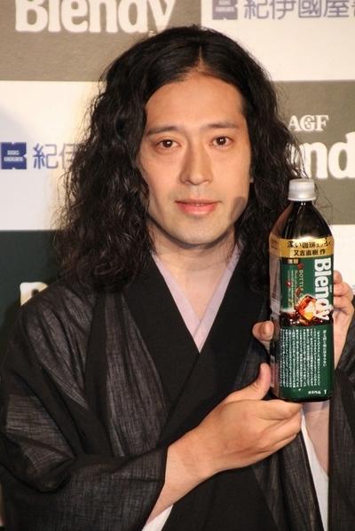 又吉直樹/Naoki Matayoshi(ピース/Peace), Jul 23, 2015 : AGFの新商品発売記念イベントに登場したピースの又吉直樹さん=2015年7月23日撮影