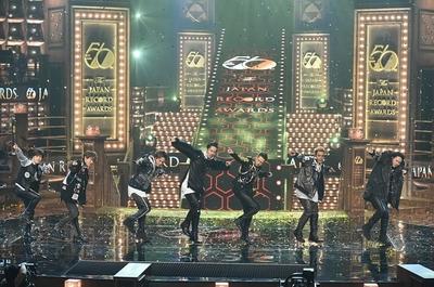 三代目 J Soul Brothers, Dec 30, 2014 : 「第56回 輝く!日本レコード大賞」で大賞を受賞した三代目 J Soul Brothers=2014年12月30日撮影