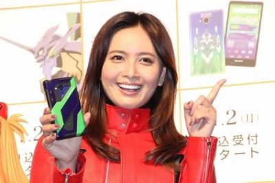 加藤夏希/Natsuki Kato, Oct 20, 2015 : 東京都内で行われた「セブン-イレブン×エヴァンゲリオン キャンペーン」記者発表会に出席。