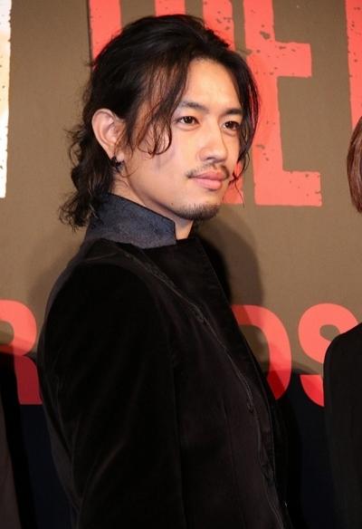 斎藤工, Sep 21, 2016 : 東京都内で行われた映画「HiGH&LOW THE RED RAIN」の完成披露舞台あいさつ