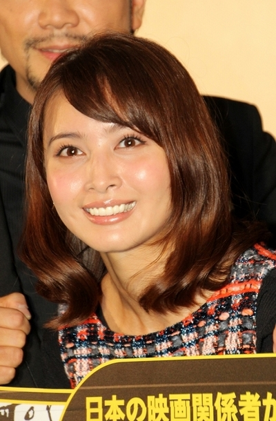 加藤夏希/Natsuki Kato, Oct 27, 2014 : 映画「TATSUMI マンガに革命を起こした男」の舞台あいさつに登場=2014年10月27日撮影