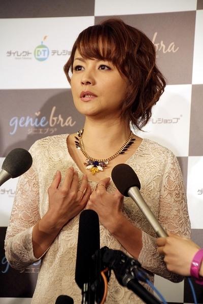 中澤裕子/Yuko Nakazawa, Nov 12, 2013 : =2013年11月12日撮影 米国発のブラジャー「ジニエブラ」PRイベント