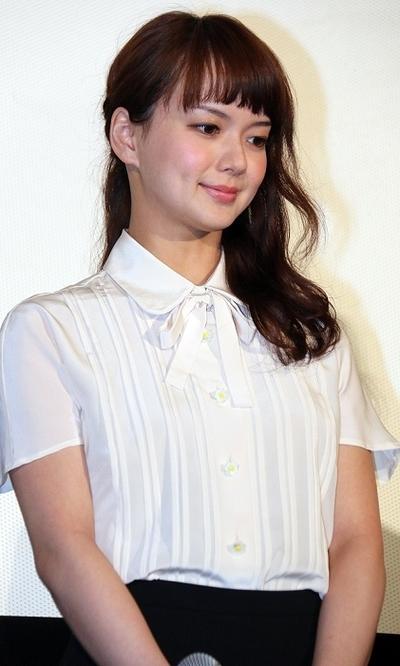 多部未華子/Mikako Tabe, Feb 22, 2016 : 都内で行われた映画『あやしい彼女』完成披露試写会