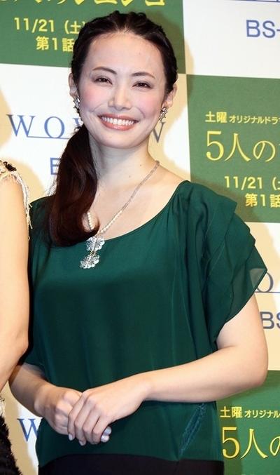 ミムラ/Mimula, Nov 16, 2015 : WOWOW「連続ドラマW 5人のジュンコ」完成披露試写会=2015年11月16日撮影