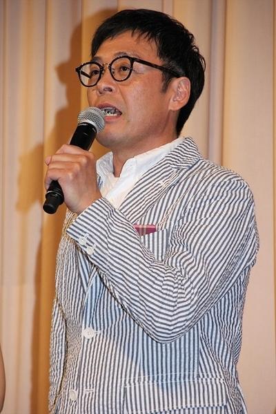 光石研/Ken Mitsuishi, May 23, 2016 : 東京・スペースFS汐留で行われた映画「夏美のホタル」の完成披露試写会