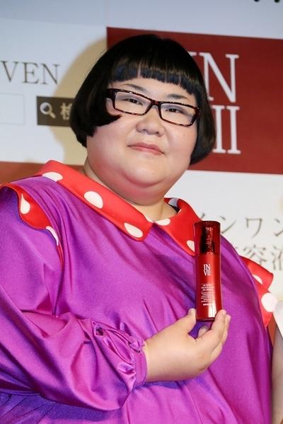 安藤なつ(メイプル超合金), Nov 01, 2016 : 東京都内で行われた化粧水美容液「DGセラム」PRイベント