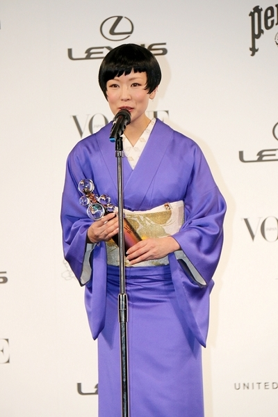 椎名林檎/Ringo Shiina, Dec 01, 2014 : 「VOGUE JAPAN Women of the Year」授賞式
