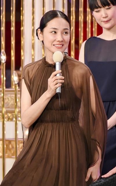 吉田羊/Yo Yoshida, Mar 04, 2016 : 第39回日本アカデミー賞授賞式