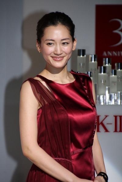 綾瀬はるか/Haruka Ayase, Jan 15, 2015 : 「SK-2」のイベントに登場した綾瀬はるかさん=2015年1月15日撮影