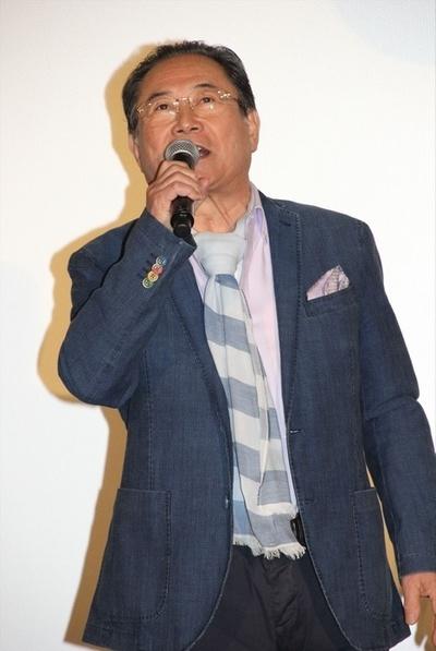 前田吟, Apr 22, 2017 : 映画「3月のライオン」後編の初日舞台あいさつ=2017年4月22日撮影