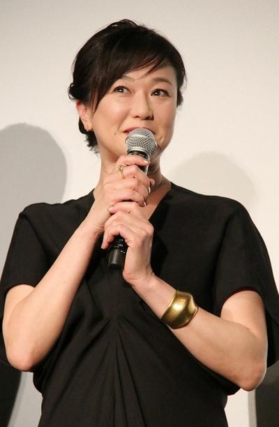 夏川結衣/Yui Natsukawa, May 07, 2016 : 東京・TOHOシネマズ 日劇にて開催された映画「64-ロクヨン-」の初日舞台あいさつ
