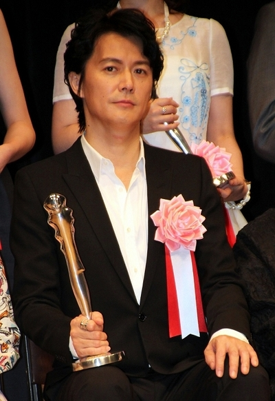 福山雅治/Masaharu Fukuyama, Feb 02, 2014 : 「第35回ヨコハマ映画祭」表彰式 主演男優賞 「そして父になる」「真夏の方程式」