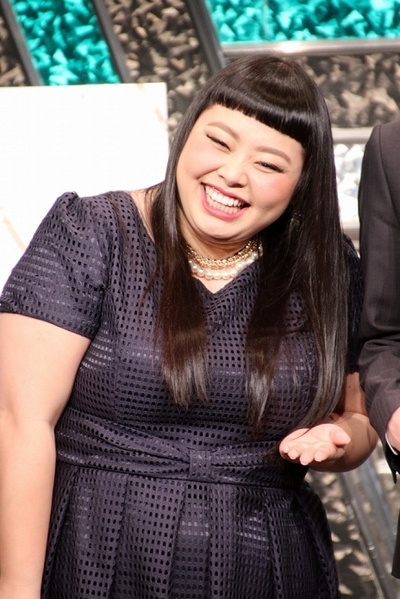 渡辺直美/Naomi Watanabe, Mar 20, 2016 : 東京都内で行われた「平成27年度いばらき広告大賞」受賞式