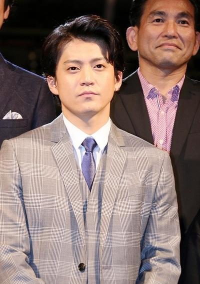 小栗旬/Shun Oguri, Oct 05, 2015 : 映画「ギャラクシー街道」(三谷幸喜監督)の完成披露試写会