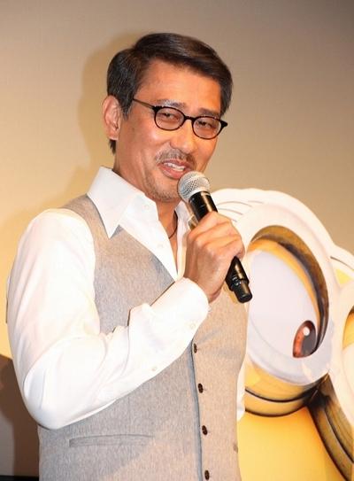 中井貴一/Kiichi Nakai, Sep 21, 2013 : 「怪盗グルーのミニオン危機一発」の初日舞台あいさつ