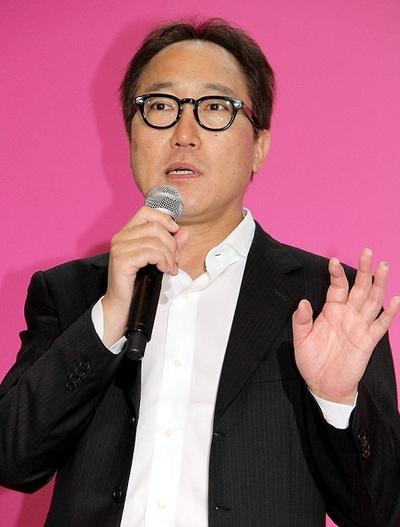 佐野史郎/Shiro Sano, Jul 21, 2014 : 「GODZILLA」(ギャレス・エドワーズ監督)のトークショーに登場した佐野史郎さん=2014年7月21日撮影
