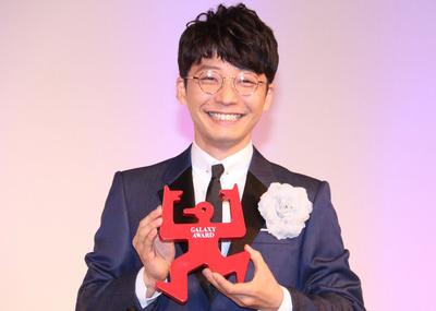 星野源, Jun 01, 2017 : 「第54回ギャラクシー賞」贈賞式に登場した星野源さん=2017年6月1日撮影