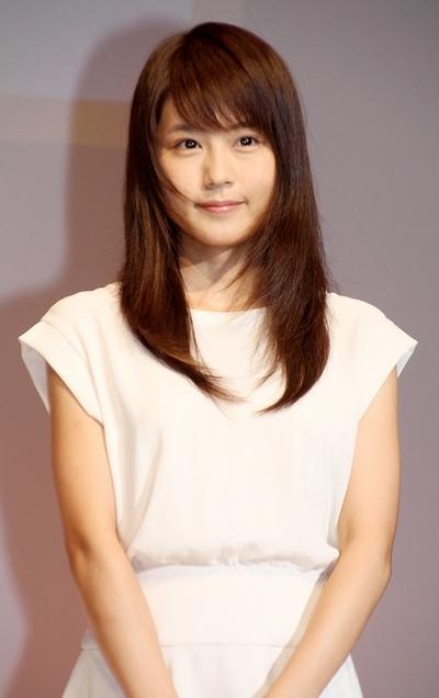 有村架純/Kasumi Arimura, Oct 10, 2013 : 話題を呼んだNHK連続テレビ小説「あまちゃん」の出演を振り返った有村架純さん=2013年10月10日撮影
