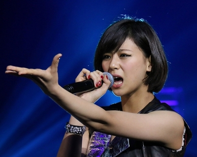 西内まりや/Mariya Nishiuchi, Dec 28, 2014 : 「RISING福島復興支援コンサート」=2014年12月28日撮影