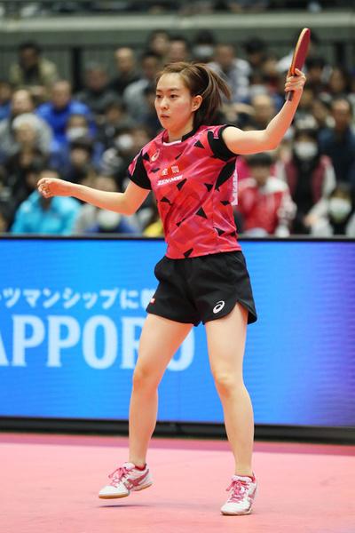 石川佳純/Kasumi Ishikawa,  JANUARY 22, 2017 - Table Tennis :  All Japan Table Tennis Championships  Women's Singles Final  at Tokyo Metropolitan Gymnasium, Tokyo, Japan.  (Photo by YUTAKA/AFLO SPORT)