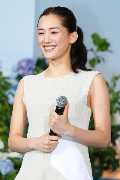 "綾瀬はるか/Haruka Ayase, May 11, 2015 : Actress Haruka Ayase attends premiere event for movie ""Umimachi Diary"" held at Roppongi Hills Arena in Tokyo. The Cannes nominated film opens on June 13 in Japan. (Photo by Sho Tamura/AFLO)"
