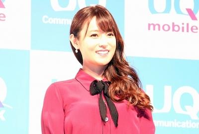 深田恭子, Oct 24, 2016 : 東京都内で行われたUQ コミュニケーションズの「2016 秋冬 UQ 発表会」