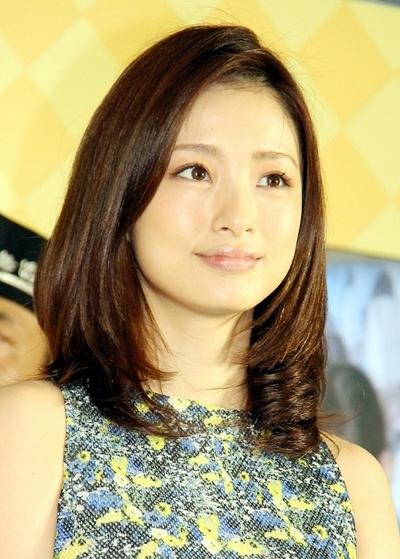 上戸彩/Aya Ueto, May 28, 2014 : 「キャラメルソムリエ」に就任した上戸彩さん=2014年5月28日撮影