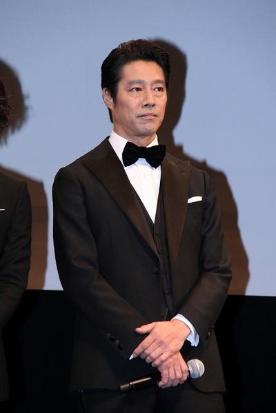 堤真一, Nov 14, 2016 : 東京都内で行われた映画「海賊とよばれた男」完成記念イベント