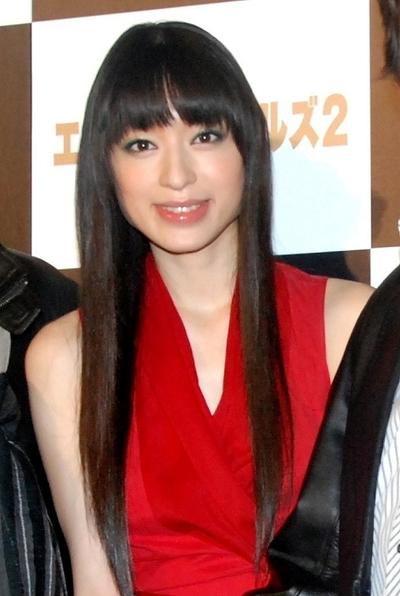 栗山千明/Chiaki Kuriyama, Oct 11, 2012 : 映画「エクスペンダブルズ2」イベントに登場した栗山千明さん=2012年10月11日撮影